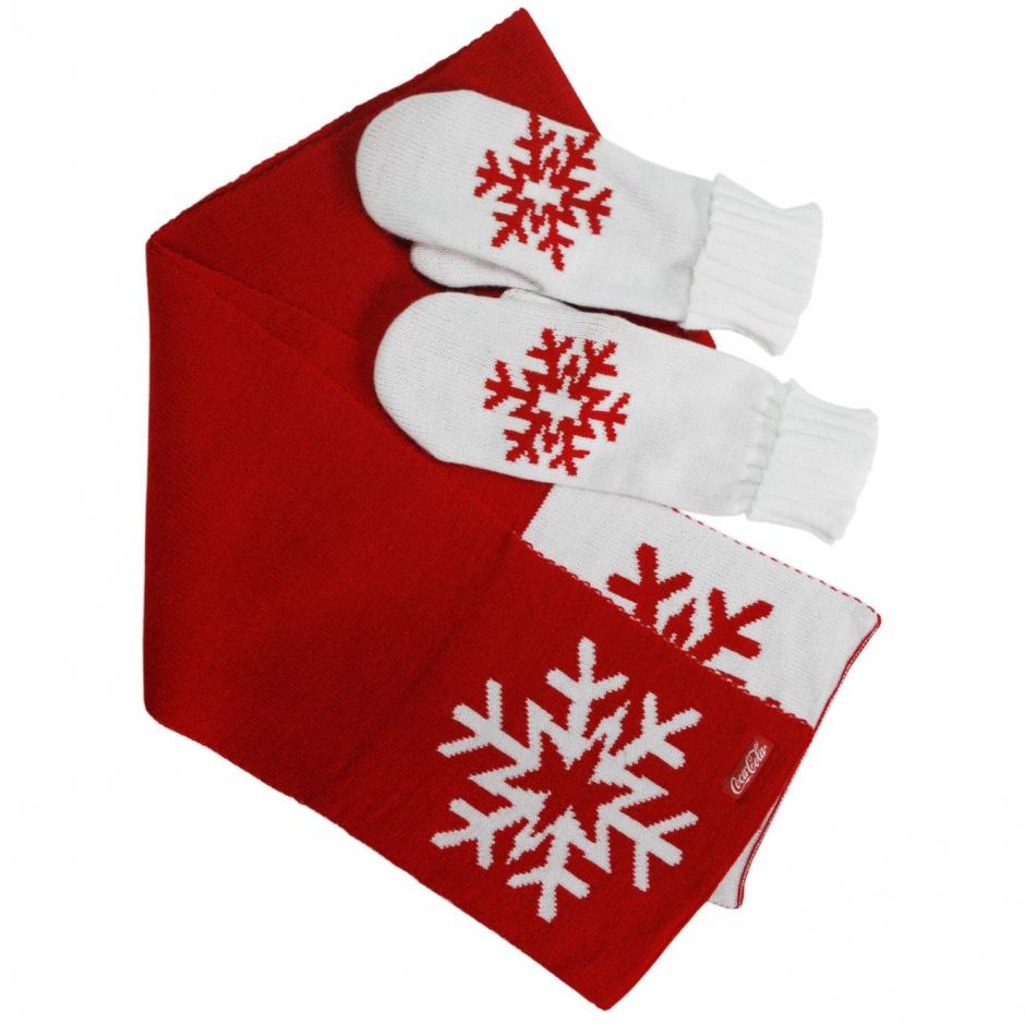Варежки и шарф в подарок 84